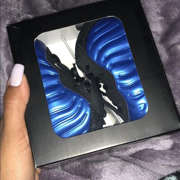 Brandnew Blue Infant Nike Foamposite